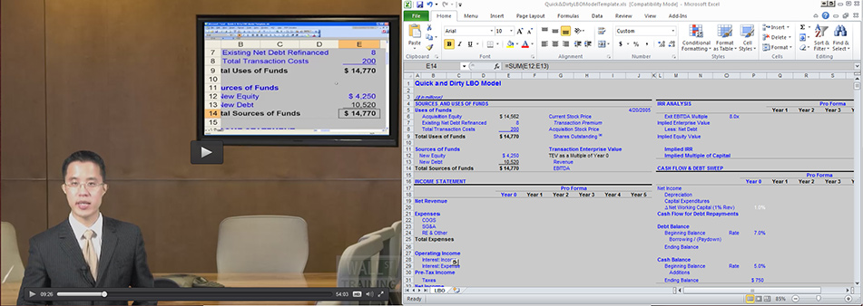 Self-Study Courses in Financial Modeling and Excel | Wall Street